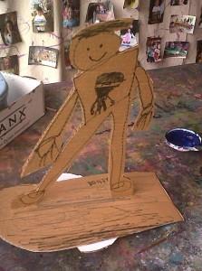 Nathans skateboard ride